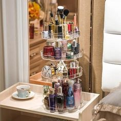 (paid link) Best burgundy makeup look s for all daylight 1. A foundation that next to matches your skin. 2. Nude lips ... #burgundymakeuplook Bathroom Organization, Makeup Organization, Toiletry Organization, Organisation Ideas, Organizing Ideas, Cosmetic Storage, Cosmetic Case, Diy Storage, Storage Boxes