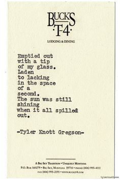 Typewriter Series #873 by Tyler Knott Gregson *Pre-Order my book, Chasers of the Light, and donate $2 to @TWLOHA and get a free book plate signed by me :) Click the link in my bio, or go here: tylerknott.com/chasers*