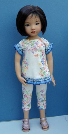 Dianna Effner 13 inch Vinyl Little Darling. Hand painted  by Kuwahidolls
