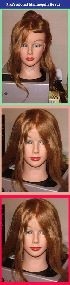 Professional Mannequin Beautiful Female Head Real Hair Will Fit All Holders. PRO