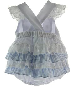 Hiccups Childrens Boutique - Baby Girls Monogrammed White Summer Bubble Outfit Ruffled Butt, $40.00 (https://www.hiccupschildrensboutique.com/baby-girls-monogrammed-white-summer-bubble-outfit-ruffled-butt/)