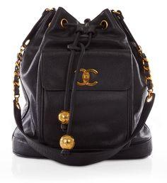 Vintage Chanel large caviar skin duffel bag - Vintage Heirloom serial: 27032014