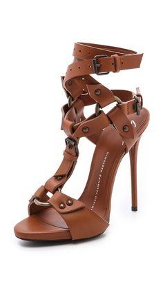 dc58b9dc71fe06 Giuseppe Zanotti Wraparound Strap Heels Zapatos Shoes