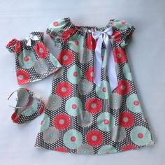 18 in Girl Doll and Girl Matching Clothes Doll and Me by sashali