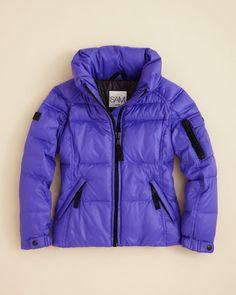 Sam. Girls' Freestyle Puffer Jacket - Sizes 2-6