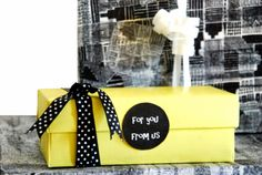 DIY: gift wrapping ideas!