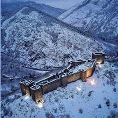 Maglič Fortress, built by AD, one of the most important places in Medieval Serbia : europe Beautiful Castles, Beautiful Places, Castillo Feudal, Fortification, Medieval Castle, Kirchen, Abandoned Places, Resorts, Places To See