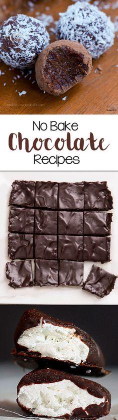 no bake chocolate recipes vegan