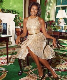 Michelle Obama, the smart, elegant and classy First Lady