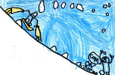 SUNDAY'S FORECAST: Cloudy, warming to 39 degrees. Hellgate Elementary School student Joren Gann, age 6, drew today's weather picture. Weather art from Montana kids runs every day in the Missoulian.