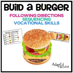 Build a Burger | AdaptEd 4 Special Ed