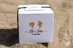 invitación de boda personalizada