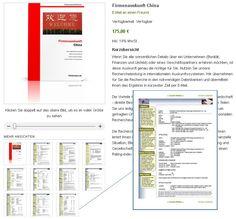Firmenauskunft China - Beispielauskunft integriert. Zahlreiche Elemente wie Finanzzahlen (Bilanzdaten), Gesellschafterangaben und Daten aus den lokalen chinesischen Registern.
