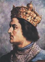 Przemysł II (1257 - 1296). High Duke of Poland from 1290 until 1291, then King of Poland from 1295 until 1296. He married three times and had three children.