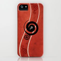 Abstract IV (Red) iPhone Case by Viviana González - $35.00