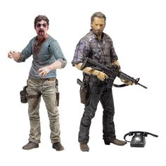 The Walking Dead TV Series 7.5 Action Figure Case
