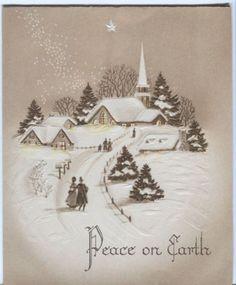 vintage sepia christmas photo - Google Search