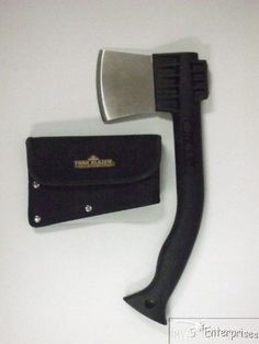 "Outdoor camping full tang 13"" hatchet axe w/sheath NEW ** Find out more details @ https://www.amazon.com/gp/product/B004WLGMLE/?tag=homeimprtip08-20&pmn=190716225944"