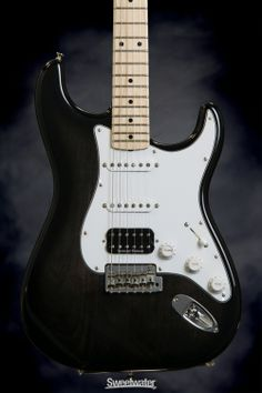 Fender Custom Shop Sweetwater Mod Squad '62 Stratocaster - Trans Ebony, Glossy | Sweetwater.com