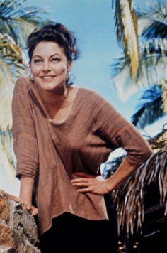 Ava Gardner 1964 Night of the Iguana Ava Gardner, Diane Keaton, Old Hollywood Stars, Old Hollywood Movies, Katharine Hepburn, Jean Harlow, Zooey Deschanel, Kristen Bell, Rita Hayworth