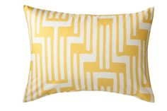 The Pottery has TONS of decorative pillows for your home!  Add a splash of color to any room with a fun accent pillow.