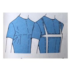 (Posted for image reference only. Sewing Lessons, Sewing Hacks, Sewing Tutorials, Dress Sewing Patterns, Clothing Patterns, Pattern Draping, Sewing Alterations, Modelista, Pattern Cutting