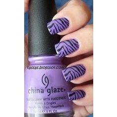 purple zebra <3