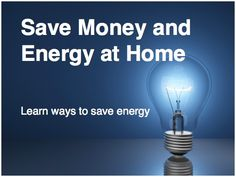 10 Easy Ways to Save Money & Energy in Your Home - Most people don't know how easy it is to make their homes run on less energy, and here at InterNACHI, we want to change that.