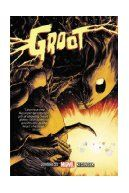Groot / Jeff Loveness, writer ; Brian Kesinger, artist.   Rocket and Groot are having a heck of a time on a well-deserved celestial road trip to Earth--until Rocket gets captured by a bounty hunter. Separated from his friend, Groot embarks on a cosmic odyssey to get him back--with the help of three Skrulls, a robot, the Silver Surfer, and assorted other aliens. Is he the right tree for the job? Well, he *is* Groot!