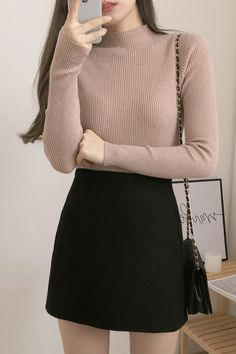 Golden Span Timber Semi-Polar January 05 2020 at fashion-inspo Cute Asian Fashion, Korean Fashion Summer, Korea Fashion, Japanese Fashion, Korean Girl Fashion, Dope Outfits, Classy Outfits, Trendy Outfits, Fashion Outfits