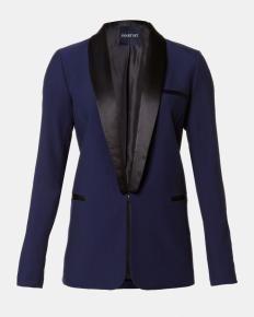 Tuxedo blazer with contrasting lapel   Shop Online at Smart Set - 69