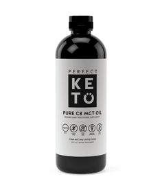 Perfect Keto Liquid MCT Oil is pure MCTs from coconuts to get you more of the healthy fats you need to think clearly and maintain healthy weight loss. Keto Postres, Ketogenic Desserts, Ketogenic Diet, Ketosis Diet, Keto Foods, Mct Oil, Keto Cheesecake, Cheesecake Recipes, Low Carb Food