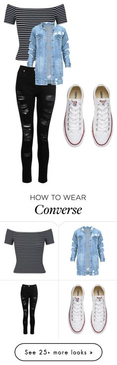 """""""since when was it illegal, to look good"""" by bree-connor on Polyvore featuring Miss Selfridge, Dorothy Perkins and Converse"""