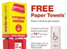 CVS: FREE Just the Basics Paper Towel Roll! Read more at http://www.stewardofsavings.com/2014/03/cvs-free-just-basics-paper-towel-roll.html#Gj76VJTKZuFFjPY5.99