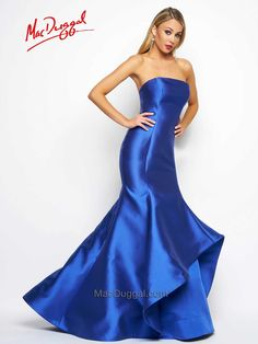 Beautiful mermaid evening gown from Mac Duggal.  Call Avenue 22 Bridal to book your apt 416-782-8828!