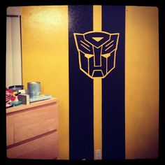 Transformers Little Boys Bedroom, would this work in the Steelers bedroom?