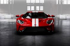 Image for 2017 Ford GT Carbon Fiber Wheels Front View