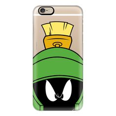 iPhone 6 Plus/6/5/5s/5c Case - Marvin the Martian Portrait ($40) ❤ liked on Polyvore featuring accessories, tech accessories, iphone case, iphone cover case and apple iphone cases