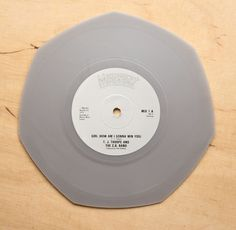 T.J. Thorpe And The C.B. Band – Girl (How Am I Gonna Win You) - Shaped Grey Vinyl - 12 Inch