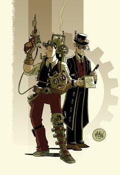 Steampunk Duo