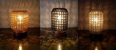 Crochet Jar Lamps