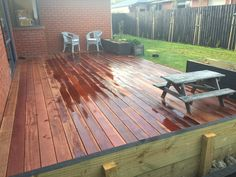 Wood Projects, Deck, Outdoor Decor, Home Decor, Decoration Home, Room Decor, Front Porches, Wood Working, Home Interior Design