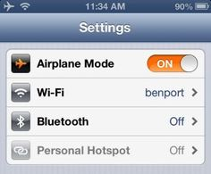 airplane mode on off android programmatically