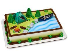 Fireside Camp DecoSet® Cake (sku: 8306C)
