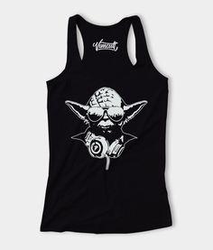 9b8f8ac657f91 Women Tank Top DJ Yoda Star Wars