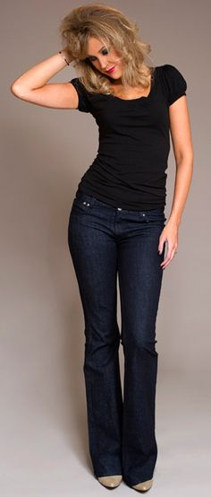 Jeans for tall women by tall women... should keep this site in mind...