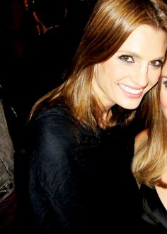 Stana Katic at the Castle Season 4 Wrap Party.