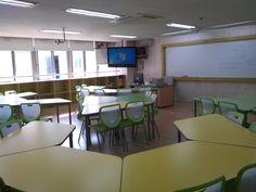 Taking My Fork Classroom Desk, Classroom Layout, Classroom Organization, Classroom Management, Classroom Table Arrangement, Desk Arrangements, Teaching Plan, Multipurpose Room, Fork