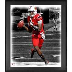 Teddy Bridgewater Louisville Cardinals Fanatics Authentic Framed 20'' x 24'' In the Zone Photograph