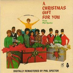 """A Christmas Gift for You from Phil Spector"" - starring the miraculous voice of Darlene Love - a terrific holiday album Christmas Albums, Christmas Gift For You, Christmas Music, Christmas Baby, Christmas Stuff, Christmas Time, Vintage Christmas, Xmas Music, Christmas Classics"